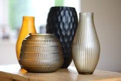 4 вазы Стоковые Изображения RF