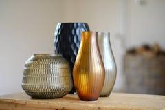 4 вазы Стоковое Изображение RF