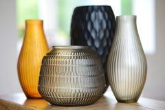 4 вазы Стоковое Фото