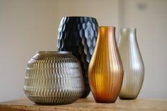 4 вазы Стоковое Изображение