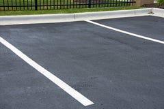 Вакантная парковка Стоковая Фотография RF