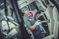 Вакуумировать интерьера автомобиля стоковая фотография rf