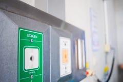 Вакуум медицинского оборудования и газ кислорода Стоковые Изображения RF
