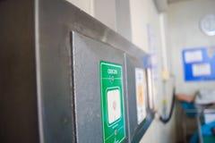 Вакуум медицинского оборудования и газ кислорода Стоковое Фото