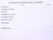 вакцинирование листа Стоковые Изображения RF