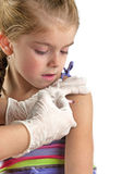 Вакцинирования ребенка Стоковое Фото