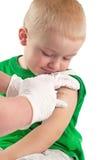 Вакцинировать ребенка Стоковые Изображения