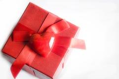 Валентайн влюбленности подарка Стоковая Фотография