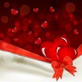 Валентайн дня праздничное s предпосылки Стоковое Изображение RF