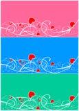 Валентайн дня предпосылки Иллюстрация вектора