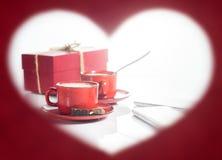Валентайн дня s сформируйте сердце рамки Стоковая Фотография RF