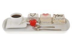 Валентайн дня s торта Стоковая Фотография