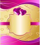 Валентайн карточки Стоковые Изображения