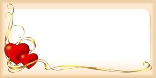 Валентайн карточки Стоковая Фотография RF