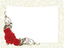 Валентайн карточки Стоковые Изображения RF