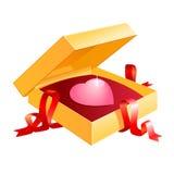 Валентайн коробки Стоковая Фотография RF