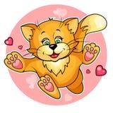 Валентайн кота бесплатная иллюстрация