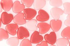 Валентайн красного цвета влюбленности сердца Стоковое Фото