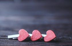 Валентайн Любовь Валентайн открытки s дня Полюбите концепцию на день ` s матери и день ` s валентинки Счастливые сердца дня ` s в Стоковая Фотография