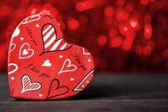 Валентайн Любовь Валентайн открытки s дня Полюбите концепцию на день ` s матери и день ` s валентинки Счастливые сердца дня ` s в Стоковые Изображения RF