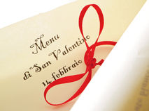 Валентайн пергамента s дня Стоковая Фотография