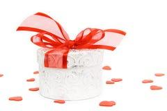 Валентайн подарка коробки Стоковые Фото