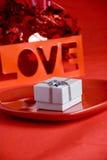 Валентайн подарка Стоковое Фото