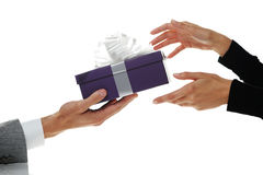 Валентайн подарка Стоковое Изображение RF