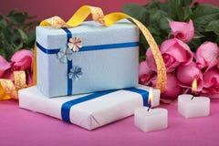 Валентайн подарков романтичное Стоковое Изображение