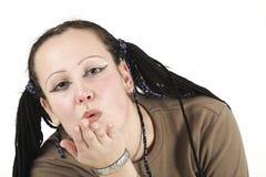 Валентайн поцелуя Стоковые Фото