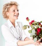 Валентайн роз s подарка дня красное Стоковое Изображение