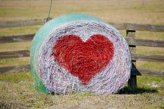 Валентайн связки сена стоковая фотография