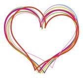 Валентайн сердец предпосылки Стоковое Изображение