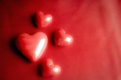 Валентайн сердец романтичное Стоковое Изображение RF
