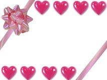 Валентайн сердец Стоковое фото RF