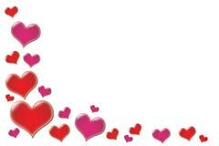 Валентайн сердец Стоковые Изображения