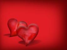 Валентайн сердец Стоковые Фото