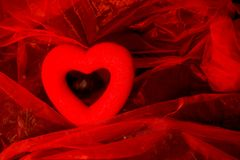 Валентайн сердец s дня предпосылки Подарок валентинки Стоковые Изображения