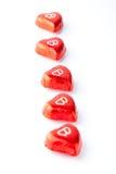 Валентайн сердец s дня шоколада Стоковая Фотография