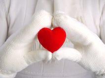 Валентайн сердца красное s стоковые изображения