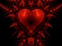 Валентайн сердца побудительное s дракона дня Стоковое Фото