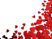 Валентайн сердца Стоковое Изображение