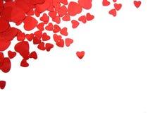 Валентайн сердца Стоковые Фото