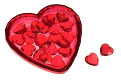 Валентайн сердца Стоковые Изображения