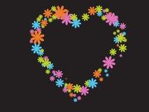 Валентайн сердца иллюстрация штока