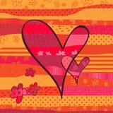 Валентайн сердца Стоковое фото RF