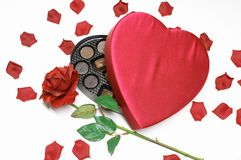 Валентайн сердца s дня конфеты стоковое фото rf