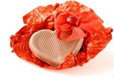 Валентайн сердца s дня шоколада Стоковая Фотография