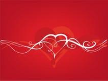 Валентайн сердца s дня иллюстрация вектора