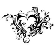 Валентайн сердца s дня иллюстрация штока